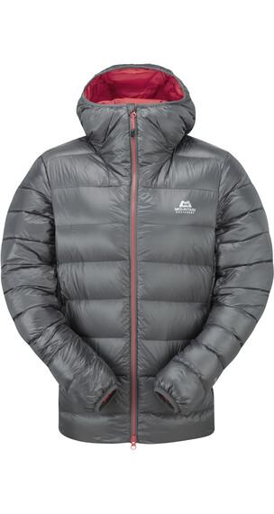 Mountain Equipment W's Dewline Hooded Jacket Shadow Grey